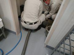 給排水設備工事、トラップ桝の清掃、排水管の清掃はプロにお任せ